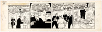 Chester Gould Dick Tracy Daily Comic Strip Original Art dated 10-1-45 (Chicago Tribune Syndicate/News Syndicate, 1
