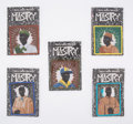 Collectible, After Kerry James Marshall . Scout Series (five works), 2017. Embroidered patches. 3-1/2 x 3-1/2 inches (8.9 x 8.9 cm) (... (Total: 5 Items)