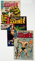 Silver Age (1956-1969):Superhero, The Sub-Mariner #1-5 Group (Marvel, 1968) Condition: Average FN-.... (Total: 10 Comic Books)