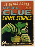 Golden Age (1938-1955):Crime, Real Clue Crime Stories V5#5 (Hillman Fall, 1950) Condition: GD....