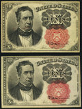 Fractional Currency:Fifth Issue, Fr. 1265 10¢ Fifth Issue About New;. Fr. 1266 10¢ Fifth Issue Choice New.. ... (Total: 2 notes)