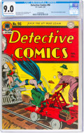 Golden Age (1938-1955):Superhero, Detective Comics #96 (DC, 1945) CGC VF/NM 9.0 Off-white to white pages....