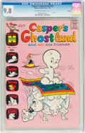 Bronze Age (1970-1979):Cartoon Character, Casper's Ghostland #52 File Copy (Harvey, 1970) CGC NM/MT 9.8 Off-white to white pages....
