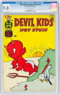 Silver Age (1956-1969):Humor, Devil Kids Starring Hot Stuff #8 File Copy (Harvey, 1963) CGC NM/MT 9.8 Off-white to white pages....