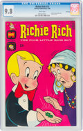 Silver Age (1956-1969):Humor, Richie Rich #73 File Copy (Harvey, 1968) CGC NM/MT 9.8 White pages....