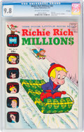 Bronze Age (1970-1979):Cartoon Character, Richie Rich Millions #46 File Copy (Harvey, 1971) CGC NM/MT 9.8 Off-white to white pages....