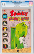 Bronze Age (1970-1979):Cartoon Character, Spooky Haunted House #1 File Copy (Harvey, 1972) CGC NM/MT 9.8 Off-white to white pages....