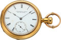 Timepieces:Pocket (pre 1900) , E. Howard & Co. 18k Gold Series V, circa 1870 ...