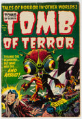 Golden Age (1938-1955):Horror, Tomb of Terror #14 (Harvey, 1954) Condition: VG-....