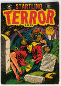 Golden Age (1938-1955):Horror, Startling Terror Tales #10 (Star Publications, 1952) Condition: GD....