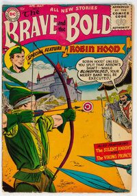 The Brave and the Bold #5 (DC, 1956) Condition: VG