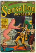 Golden Age (1938-1955):Horror, Sensation Mystery #111 (DC, 1952) Condition: GD/VG....