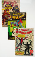 Silver Age (1956-1969):Superhero, Marvel Silver Age Group of 3 (Marvel, 1963-67) Condition: ...