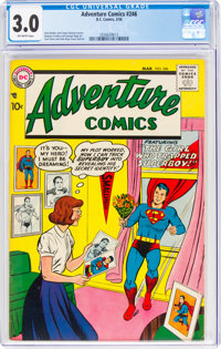 Adventure Comics #246 (DC, 1958) CGC GD/VG 3.0 Off-white pages