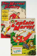 Golden Age (1938-1955):Superhero, Captain Marvel Adventures #86 and Marvel Family #22 Group (Fawcett Publications, 1948) Condition: Average FN.... (Total: 2 Items)