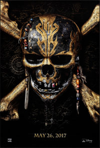 Pirates of the Caribbean: Dead Men Tell No Tales (Walt Disney Pictures, 2017). Rolled, Very Fine/Near Mint. One Sheet (2...
