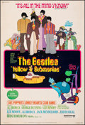"Movie Posters:Animation, Yellow Submarine (United Artists, 1968). Fine- on Linen. Poster (40"" X 60""). Heinz Edelmann Artwork. Animation.. ..."