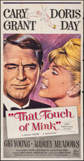 """Movie Posters:Comedy, That Touch of Mink (Universal International, 1962). Folded, Fine/Very Fine. Three Sheet (41"""" X 78.5""""). Comedy.. ..."""