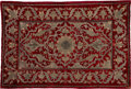 Textiles, An Ottoman Embroidered Velvet Panel, late 19th-early 20th century . 55 x 38 inches (139.7 x 96.5 cm). ...
