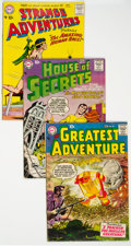 Silver Age (1956-1969):Miscellaneous, DC Silver Age Group of 10 (DC, 1957-58) Condition: Average FN.... (Total: 10 Items)