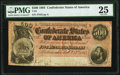 Confederate Notes:1864 Issues, T64 $500 1864 PF-3 Cr. 489B PMG Very Fine 25.. ...