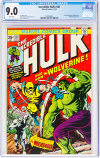 The Incredible Hulk #181 (Marvel, 1974) CGC VF/NM 9.0 White pages