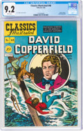 Golden Age (1938-1955):Classics Illustrated, Classics Illustrated #48 David Copperfield - First Edition (Gilberton, 1948) CGC NM- 9.2 White pages....
