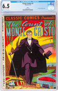 Golden Age (1938-1955):Classics Illustrated, Classic Comics #3 The Count of Monte Cristo - HRN 10 (Gilberton, 1942) CGC FN+ 6.5 Cream to off-white pages....