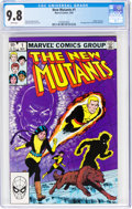 Modern Age (1980-Present):Superhero, The New Mutants #1 (Marvel, 1983) CGC NM/MT 9.8 White pages....