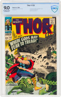Silver Age (1956-1969):Superhero, Thor #132 (Marvel, 1966) CBCS VF/NM 9.0 Off-white to white pages....