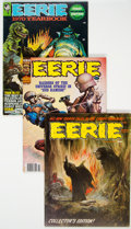 Magazines:Horror, Eerie Group of 30 (Warren, 1966-83) Condition: Average FN.... (Total: 30 Comic Books)