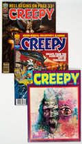 Magazines:Horror, Creepy Group of 33 (Warren, 1966-83) Condition: Average VF+.... (Total: 33 Comic Books)