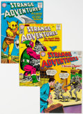 Silver Age (1956-1969):Science Fiction, Strange Adventures Group of 10 (DC, 1960-64) Condition: Average VF.... (Total: 10 Comic Books)
