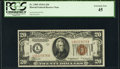 Small Size:World War II Emergency Notes, Fr. 2305 $20 1934A Hawaii Federal Reserve Note. PCGS Extremely Fine 45.. ...