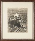 Photography:Official Photos, George Armstrong Custer: Mammoth Albumen Print of an Iconic Image by William H. Illingworth....