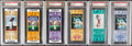 Football Collectibles:Tickets, 1973-2008 Super Bowl Full Ticket Lot of 16, PSA Graded....