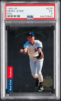 Baseball Cards:Singles (1970-Now), 1993 SP Derek Jeter #279 PSA EX 5....