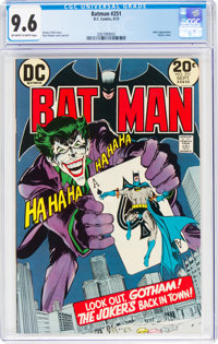 Batman #251 (DC, 1973) CGC NM+ 9.6 Off-white to white pages