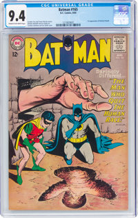 Batman #165 (DC, 1964) CGC NM 9.4 Cream to off-white pages