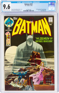 Batman #227 (DC, 1970) CGC NM+ 9.6 Cream to off-white pages