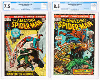 The Amazing Spider-Man #108 and 132 Group (Marvel, 1972-74).... (Total: 2 Comic Books)