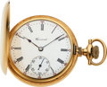 Timepieces:Pocket (post 1900), E. Howard Watch Co. 14k Gold 16 Size Hunters Case, circa 1...