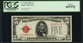 Small Size:Legal Tender Notes, Fr. 1528 $5 1928C Legal Tender Note. PCGS Gem New 66PPQ.. ...