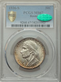 1936-S 50C Boone MS67 PCGS. CAC. PCGS Population: (77/3 and 11/0+). NGC Census: (34/4 and 2/0+). CDN: $660 Whsle. Bid fo...