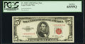 Small Size:Legal Tender Notes, Fr. 1532* $5 1953 Legal Tender Star Note. PCGS Gem New 65PPQ.. ...