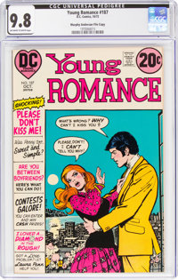 Young Romance #187 Murphy Anderson File Copy (DC, 1972) CGC NM/MT 9.8 Off-white to white pages