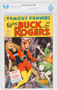Famous Funnies #209 (Eastern Color, 1953) CBCS VF/NM 9.0 Off-white to white pages