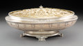 Silver & Vertu, A Whiting Mfg. Co. Silver Centerpiece Bowl with Gilt Brass...