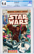 Bronze Age (1970-1979):Science Fiction, Star Wars #3 35¢ Price Variant (Marvel, 1977) CGC NM 9.4 Off-white to white pages....