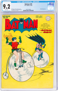 Batman #29 (DC, 1945) CGC NM- 9.2 White pages